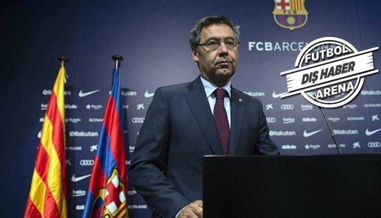 Barcelona'ya bir şok daha! Bartomeu'ya yolsuzluk soruşturması