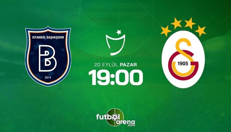 Başakşehir-Galatasaray canlı izle, Başakşehir-Galatasaray şifresiz İZLE (Başakşehir-Galatasaray beIN Sports canlı ve şifresiz İZLE)