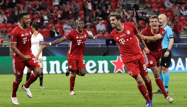 Bayern Münih, UEFA Süper Kupa'yı aldı (Bayern Münih 2-1 Sevilla maç özeti izle)