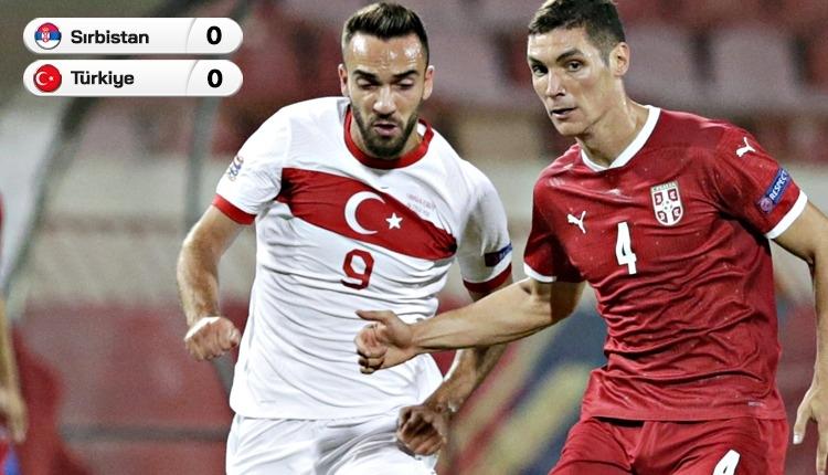 Belgrad'da ses yok! (Sırbistan 0-0 Türkiye maç özeti)
