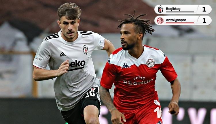 Beşiktaş ile Antalyaspor puanları paylaştı (İZLE)