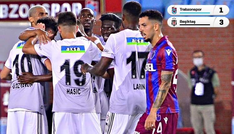 Beşiktaş, Trabzonspor'u 3 golle geçti (İZLE)