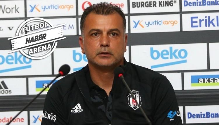 Beşiktaş'ta Murat Şahin ve Mensah konuştu