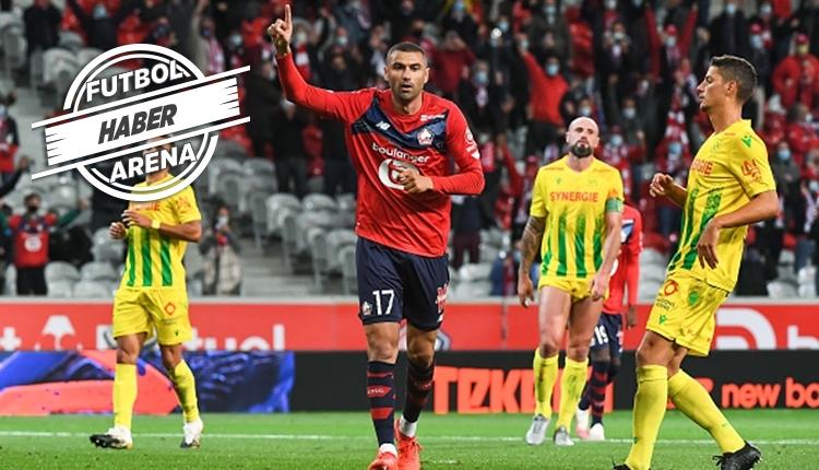 Burak Yılmaz, Lille formasıyla ilk golünü Nantes'a attı (İZLE)