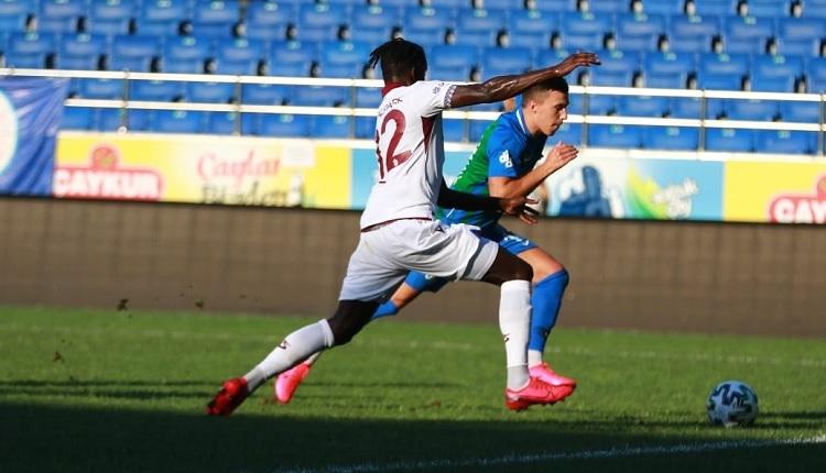 Çaykur Rizespor 3-4 Trabzonspor hazırlık maçı özeti ve golleri (İZLE)