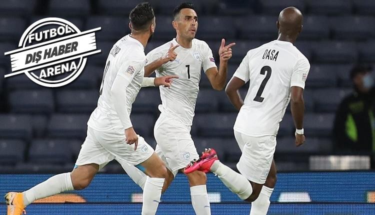 Eran Zahavi'nin golü (İZLE) - İsrail basınında Zahavi manşetlerde