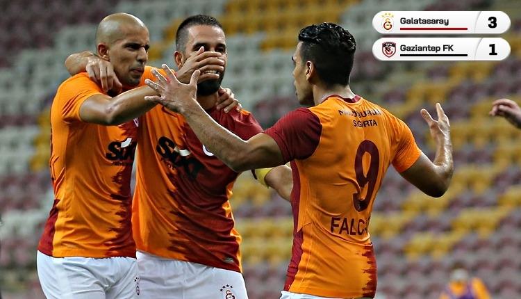 Falcao'nun gecesi! Galatasaray 3 golle kazandı (İZLE)