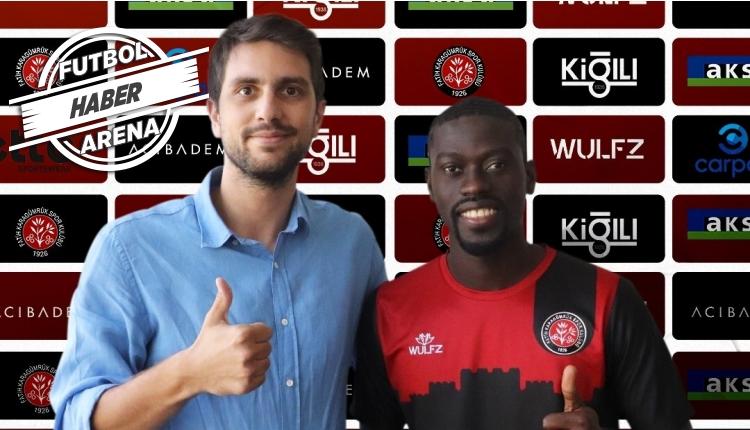 Fatih Karagümrük, Badou Ndiaye transferini açıkladı
