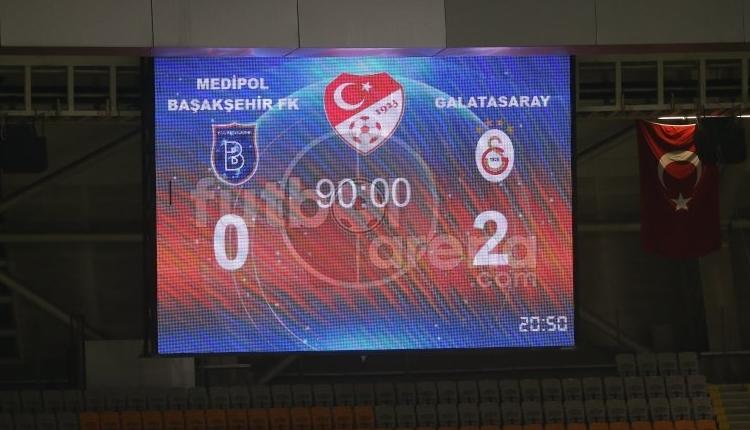Galatasaray, Başakşehir'de ilklerin gecesini yaşadı