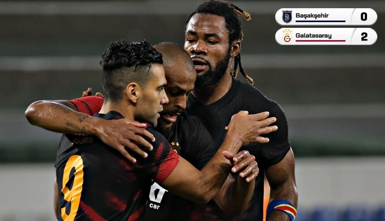 Galatasaray, Başakşehir'i 2 golle devirdi! Kabus sona erdi (İZLE)