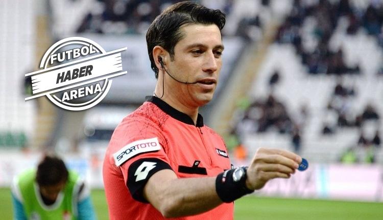 Galatasaray - Fenerbahçe derbisinin hakemi Ali Palabıyık