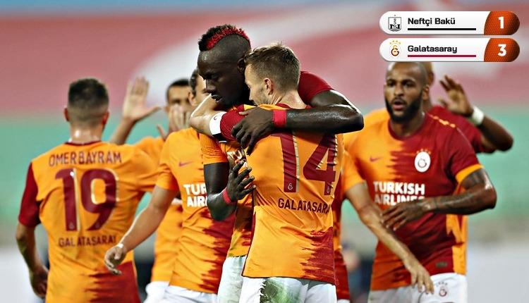 Galatasaray, Neftçi Bakü'yü 3 golle eledi! Rakibi belli oldu (İZLE)