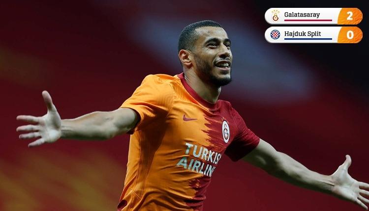 Galatasaray turladı! Galatasaray 2-0 Hajduk Split maç özeti izle