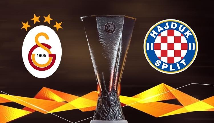 Galatasaray'ın rakibi Hajduk Split oldu (Galatasaray - Hajduk Split maçı ne zaman, nerede?)