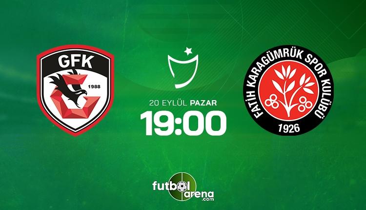 Gaziantep Karagümrük canlı izle - Gaziantep FK Fatih Karagümrük şifresiz İZLE (Bein Sports 2 canlı yayın)
