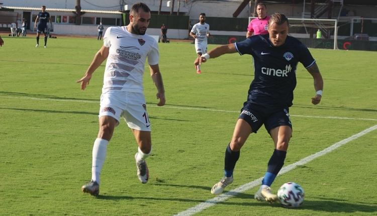 Hatayspor 1-0 Kasımpaşa maç özeti ve golü (İZLE)