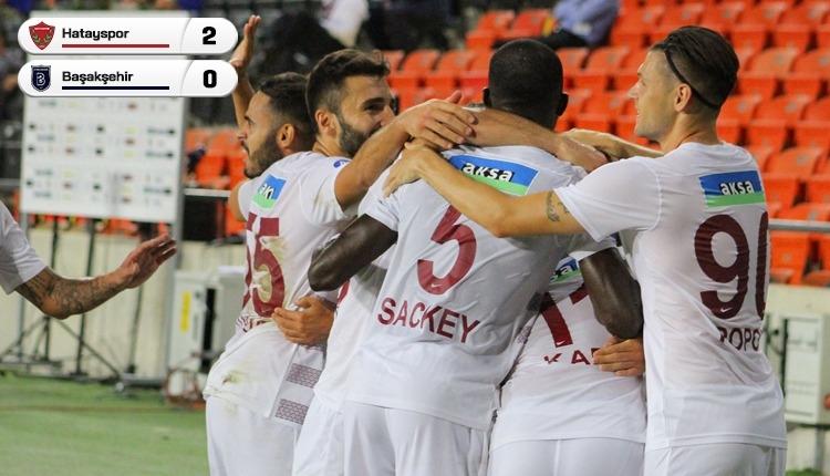 Hatayspor 2-0 Başakşehir maç özeti ve golleri (İZLE)