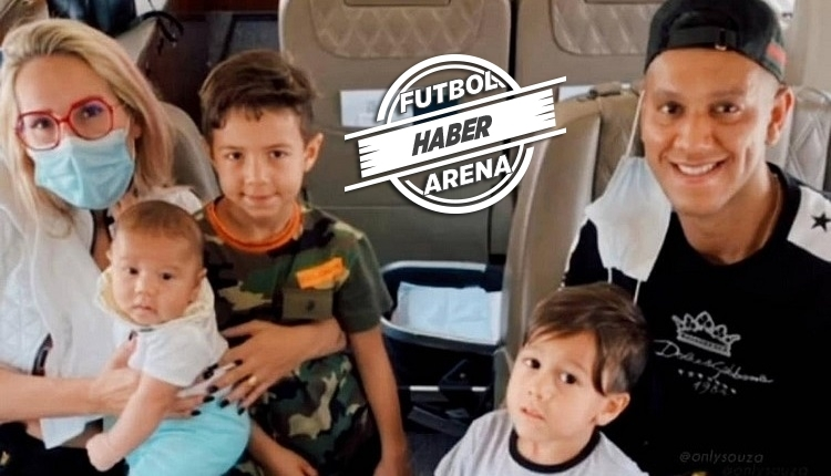 Josef de Souza, Beşiktaş için İstanbul'a geldi! Kartal pençesi pozu