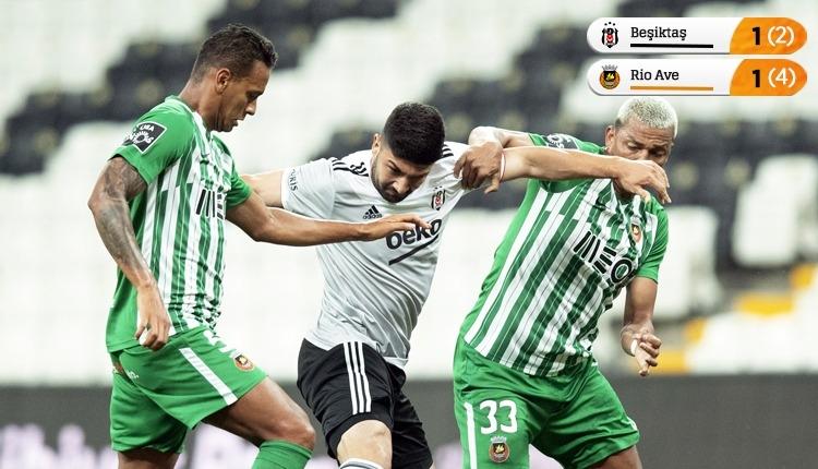 Kartal penaltılarla elendi! Beşiktaş 1-1 Rio Ave maç özeti izle