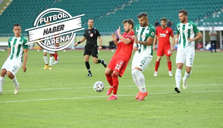 Konyaspor 4-1 Beşiktaş maç özeti ve golleri izle