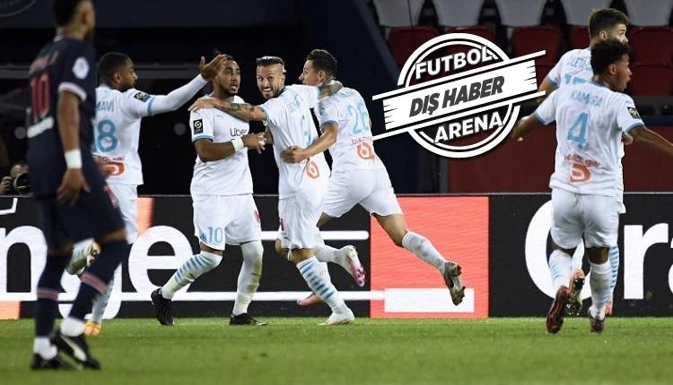 PSG 0-1 Marsilya maç özeti (Olaylar ve 5 kırmızı kart)