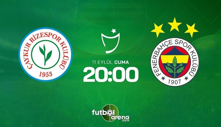 Rizespor-Fenerbahçe canlı izle,Rizespor-Fenerbahçe şifresiz İZLE Rizespor-Fenerbahçe (beIN Sports canlı ve şifresiz İZLE)