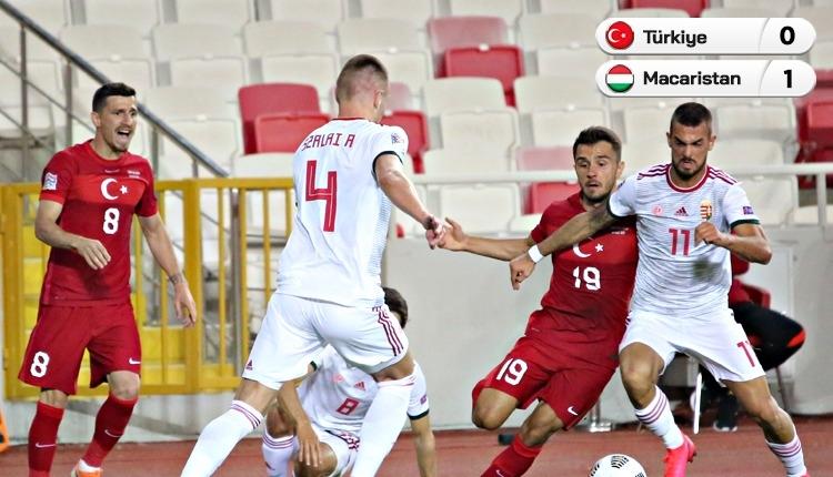 Türkiye 0-1 Macaristan maç özeti ve golü (İZLE)