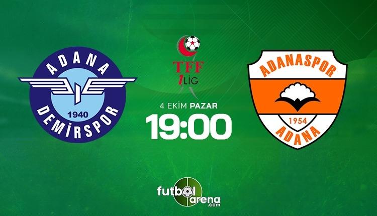 Adana Demir Adanaspor canlı izle - Adana derbisi şifresiz İZLE (Bein Sports Max 1 canlı yayın)