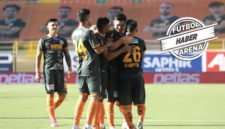 Alanyaspor 6-0 Hatayspor maç özeti ve golleri izle