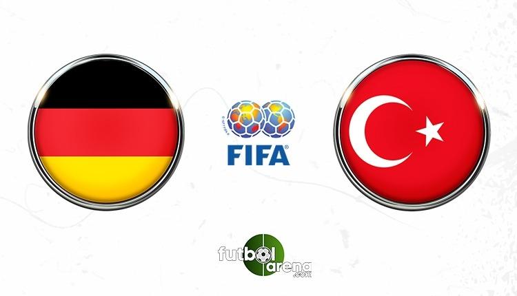 Almanya - Türkiye maçı saat kaçta, hangi kanalda?