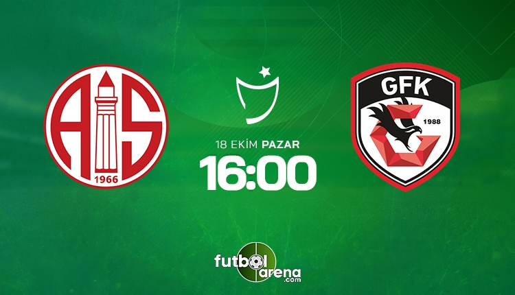 Antalyaspor Gaziantep FK canlı izle - Antalyaspor Gaziantep şifresiz İZLE (Bein Sports 1 canlı yayın)