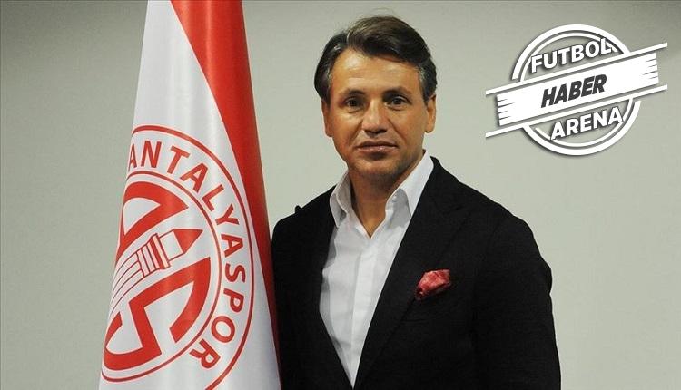 Antalyaspor'da Tamer Tuna ile yollar ayrıldı