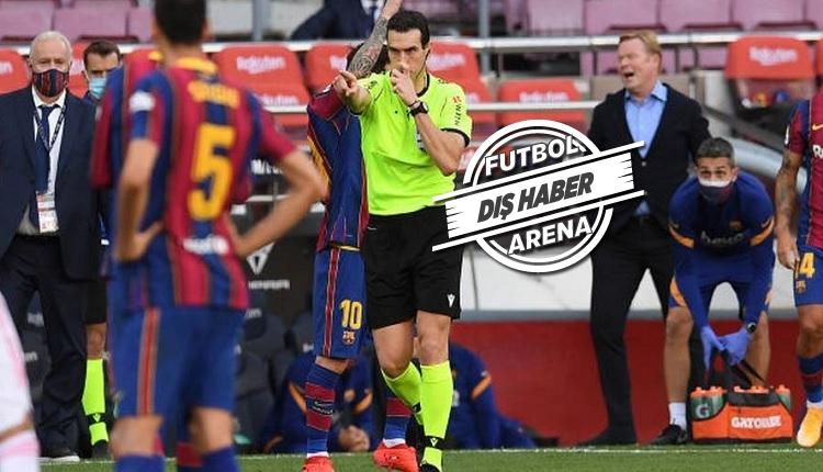 Barcelona, El Clasico'nun hakemini şikayet etti!