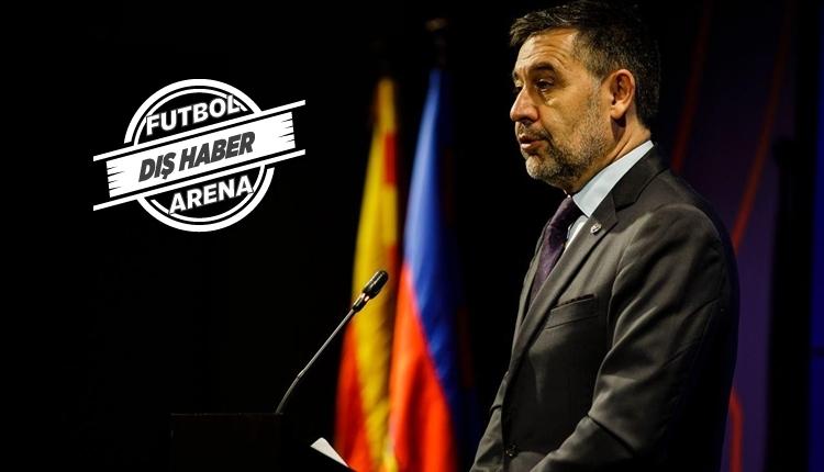 Barcelona yönetimi istifa etti! Josep Bartomeu resmen açıkladı