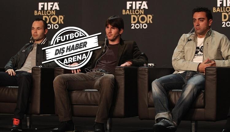 Barcelona'da tarihi proje! Messi, Guardola, Xavi, Iniesta