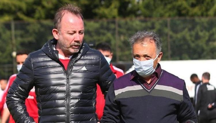Beşiktaş'ta kriz çözüldü! Sergen Yalçın - Ahmet Nur Çebi