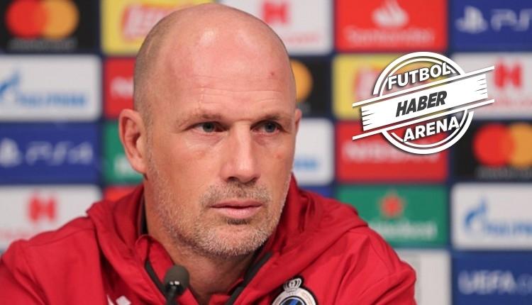 Club Brugge hocası Clement'ten Galatasaray örneği