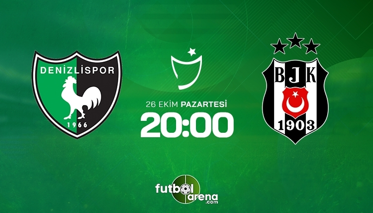 Denizlispor-Beşiktaş canlı izle, Denizlispor-Beşiktaş şifresiz İZLE (Denizlispor-Beşiktaş beIN Sports canlı ve şifresiz İZLE)