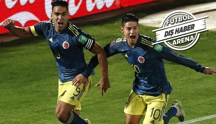Falcao'nun 90'da golü (İZLE) Kolombiya'yı yeniden kurtardı