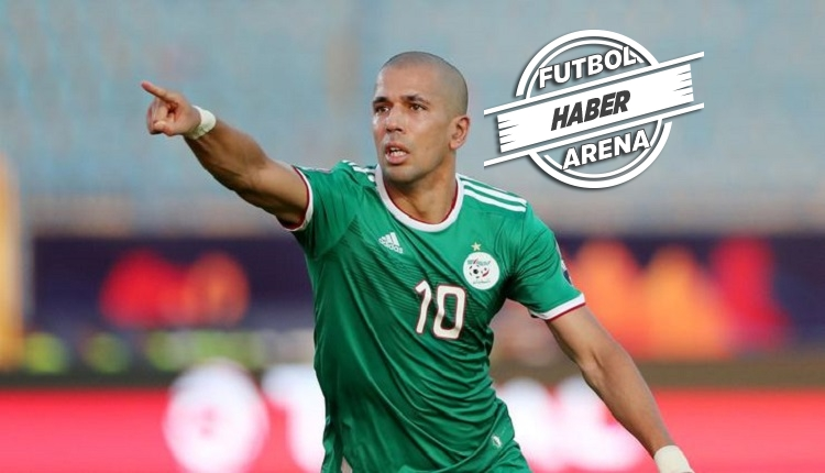 Feghouli'den milli maçta 1 asist (Meksika - Cezayir)