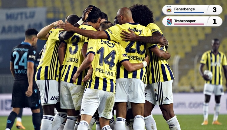Fenerbahçe geri döndü! Trabzonspor kayıp (İZLE)