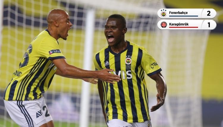 Fenerbahçe,Fatih Karagümrük'ü Samatta ile geçti (İZLE)