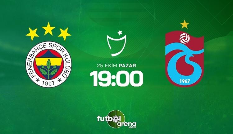 Fenerbahçe-Trabzonspor canlı izle, Fenerbahçe-Trabzonspor şifresiz İZLE (Fenerbahçe-Trabzonspor beIN Sports canlı ve şifresiz İZLE)