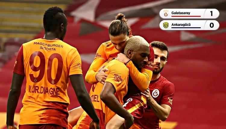 Galatasaray 1-0 Ankaragücü maç özeti ve golü (İZLE)