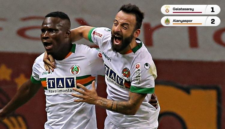Galatasaray'a Alanyaspor darbesi! Son saniye golü (İZLE)
