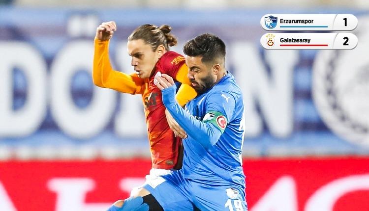 Galatasaray, Erzurum'dan 3 puanla döndü (İZLE)