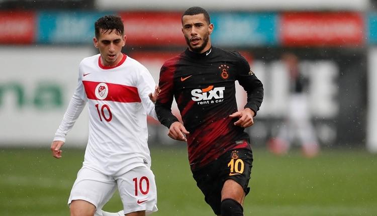 Galatasaray hazırlık maçında Ümit Milli Takımı ile karşılaştı