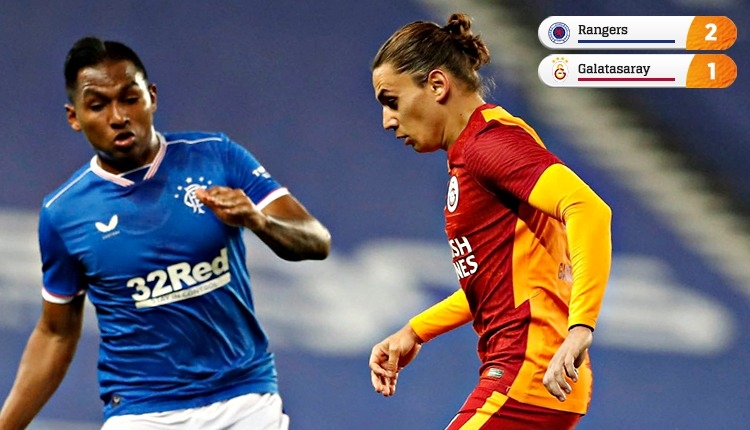 Galatasaray, İskoçya'da Avrupa kupalarına veda etti (İZLE)