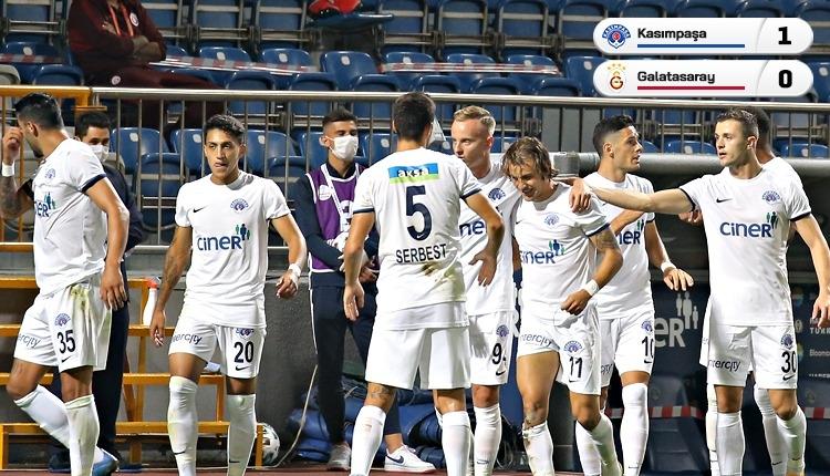 Galatasaray, Kasımpaşa'ya tek golle kaybetti (İZLE)