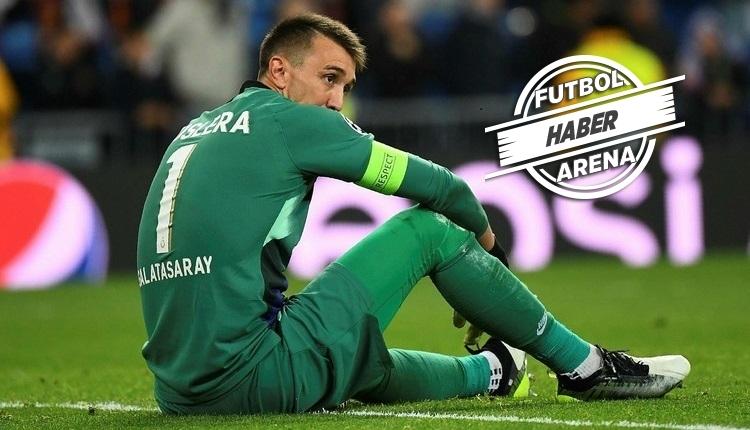 Galatasaray'da Muslera'nın lisansı çıkarıldı